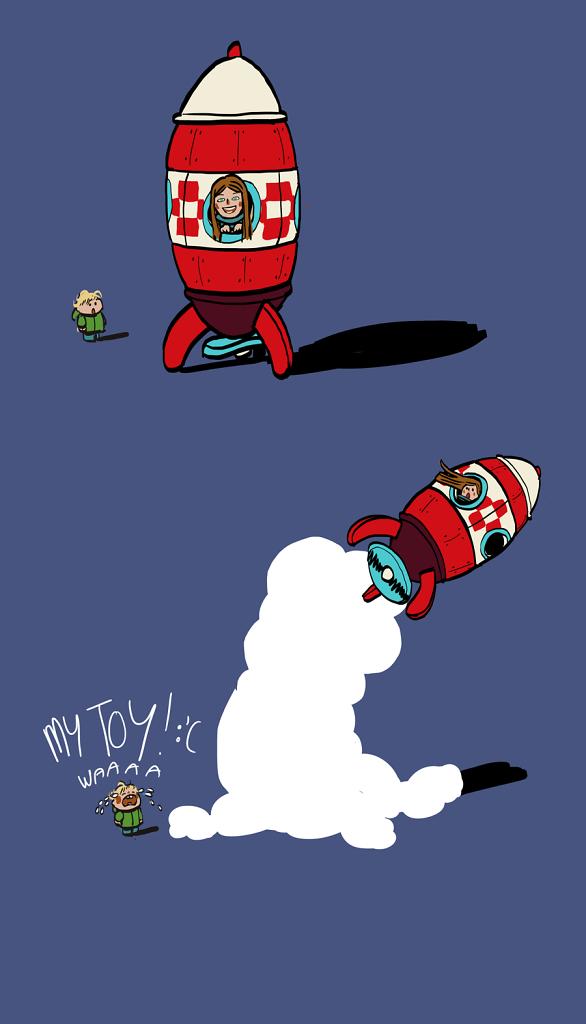 Rocket's thief